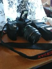 PENTAX K100D 6.1MP Digital SLR Camera  Px Promaster 7500ED Digita