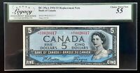 1954 Bank of Canada $5 *Beattie & Coyne* Replacement *A/C Legacy AU-55 BC-39aA