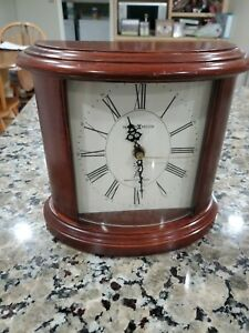 Howard Miller Shelf Mantle Desk Clock 630-156 Atomic Radio Controlled