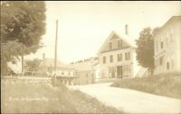 Canaan ME General View c1915 Real Photo Postcard