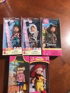 VINTAGE KELLY/TOMMY DOLL LOT OF 5