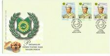2001 Malaysia ⁘ Installation of His 'Royal Highness' ~ First Day Cover (w/Encl)