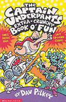 The Captain Underpants' Extra-Crunchy Book O'Fun!, Pilkey, Dav , Good, FAST Deli
