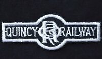 Vintage Railroad Sew On Patch Quincy Railroad QRR Illinois Railroadiana