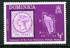 Dominica, 1974, Scott #389, mint, never hinged. 1/2 c.