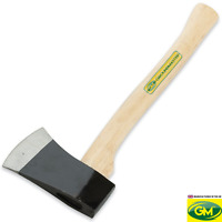"""GroundMaster 16/"""" Long Handheld Axe Handle Strong Durable Hickory Shaft 400mm"""