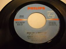 Charlotte Russe Anyway Your Mind Blows / High On a Rooftop 45 Philips UK VG+