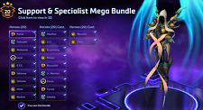 Heroes of the Storm (ALL REGIONS) SUPPORT/SPECIALIST BUNDLE Account - 50% SAVED!