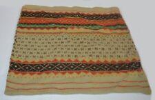 Ralph Lauren Rock River Fairisle Sweater Knit Wool Blend Pillow Cover New
