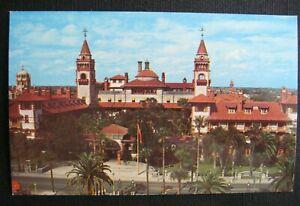 Flagler College, formerly Ponce De Leon Hotel, St. Augustine FL Florida Postcard