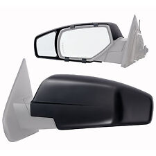 Towing Mirror Extension Chevrolet GMC Truck SUV Side View RV Trailer Hitching