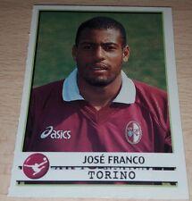 AGGIORNAMENTO FIGURINE CALCIATORI PANINI 2001/02 TORINO JOSE FRANCO ALBUM