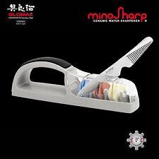 Global Minosharp Plus 3 Stage Ceramic Water Knife Sharpener For Asian Knives