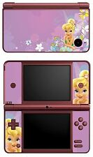 SKIN STICKER AUTOCOLLANT DECO POUR NINTENDO DSI XL REF 10 FEE CLOCHETTE