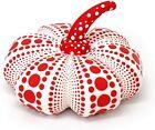 Yayoi Kusama Soft Sculpture Pumpkin Mascot Plush S Size Japan Art White New
