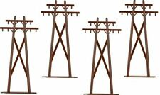 Lionel 6-22356 O High Tension Poles  (Pack of 4)
