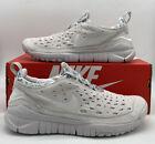 Nike Free Run Trail Neutral Grey White Running Shoes CW5814-002 Mens Size