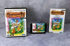 Sega Mega Drive Ragnacenty Crusader of Centy boxed Japan MD game US Seller