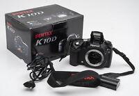 Pentax K10D K10 D K 10D Gehäuse Body SLR Kamera Spiegelreflexkamera digital