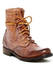 Freebird By Steven Chute Combat Boot cognac 6,7,8,