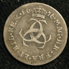 More details for maundy threepence 1676 charles ii (t13)