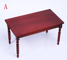 1/6 Scale Model Wooden Table DIY Desk Model Furniture Accessories 2 Color
