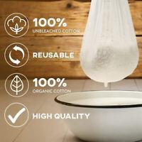 100% ungebleichter Baumwollsieb Milk Bag Cotton Cloth Cheesecloth Filter