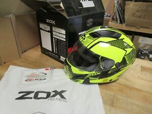 ZOX BRIGASE SE SVS HELMET -  MOTORCYCLE SNOWMOBILE ATV - ADULT MED  ELEC SHIELD