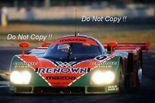 Weidler & Herbert & Gachot Mazda 787B Ganador Le Mans 1991 fotografía 2