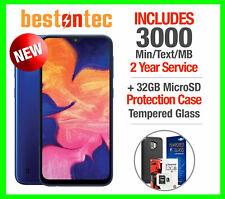 New Samsung Galaxy A10e + Tracfone 2 Year 3000 MIN/Text/3GB & Accessory Bundle