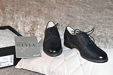 New Women's Clarks  Black Leather shoes Uk size 3 / Europe 35.5 (Fit E wide)