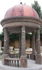 Gartenlaube aus Naturstein, Pavillon, Gartenhaus, Gartenpavillon