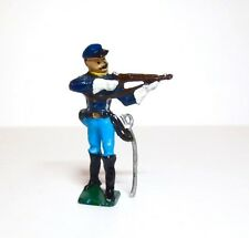 BUSSLER Lead Toy Soldier 7TH CAVALRY WITH RIFLE Britains