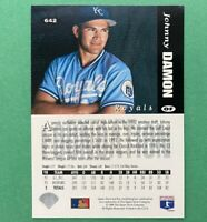 1994 Upper Deck Collector's Choice Johnny Damon Variation (White Letter) #642