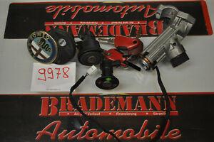 ALFA ROMEO 916 GTV Spider ORIGINAL Schließzylinder SET mit 3 Schlüsseln