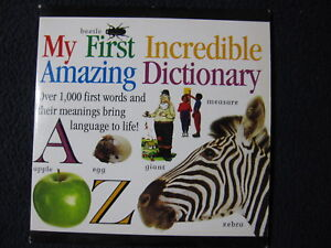 DK My First Incredible Amazing Dictionary [CD ROM] [Win 3.1]