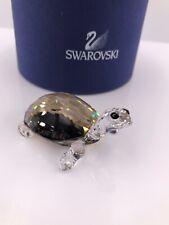 SWAROVSKI CRYSTAL TORTOISE RETIRED 2011 MIB #954679