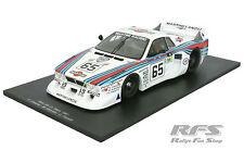 LANCIA BETA MONTE CARLO TEAM MARTINI RACING 24h Le Mans 1981 1:18 SPARK 18s160