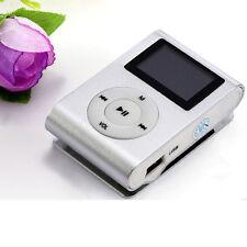 USB Mini Clip MP3 Player LCD Screen Support 32GB Micro SD TF Card New
