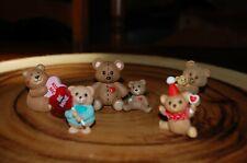 Hallmark Merry Miniatures Valentine Bears