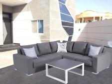 Terrassenmöbel lounge wetterfest  Ohne Angebotspaket Garten-Garnituren & -Sitzgruppen aus Aluminium ...