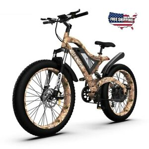 AOSTIRMOTOR Electric Bike S18 1500W Mountain E-bike 48V 15Ah Removable Fat Tire