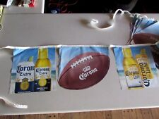 New Corona Extra Light Football Summer Beer String Banner Bottle Beach Can Flags