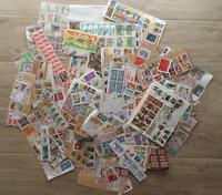 440 grammes de timbres sur fragments