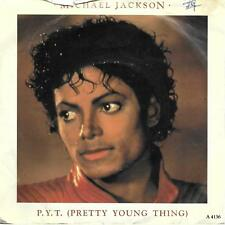"""Michael Jackson P. Y. T (Pretty Young Thing) UK 45 7"""" single +Picture Sleeve"""