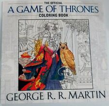 Games of Thrones Coloring Book A Song of Ice and Fire Official George R.R