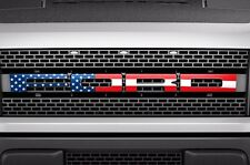 Ford Raptor F150 SVT Grille Insert Graphic Vinyl Sticker Grill Decal - USA FLAG