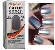Sally Hansen Salon Effects Reals Nail Polish Strips -Metal Head- NIB