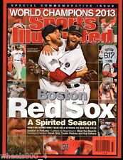 Sports Illustrated 2013 World Series Champions Boston Red Sox + (1) B Strong Pch