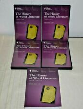 Great Courses: The History of World Literature - Guidebook + 24 CD Set
